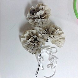 Paper Flowers From Books
