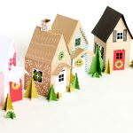 Holiday Houses Made From Paper