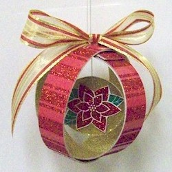 Paper Loop Ornament