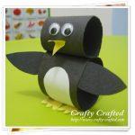 Make A Paper Loop Penguin