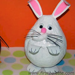 Image of Papier Mache Bunny