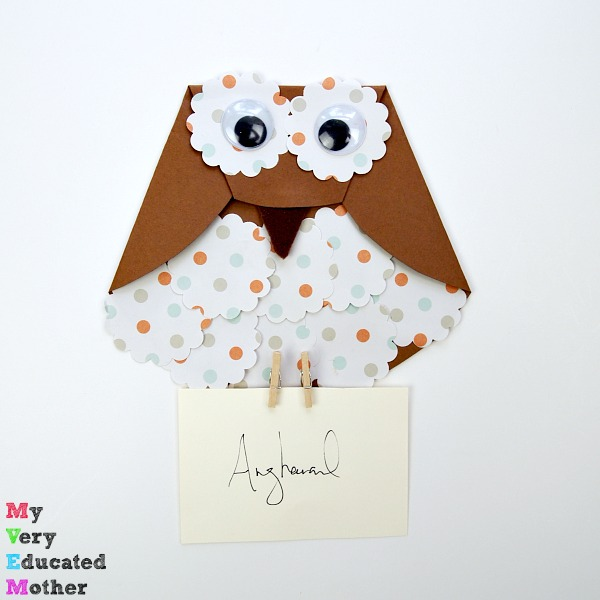 Image of Paper Owl Letter Carrier