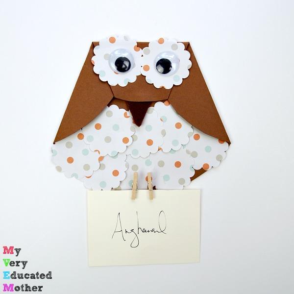 Paper Owl Letter Carrier