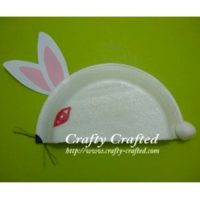 Image of Cardboard Tube Bunny Candy Holders