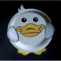 Image of Paper Plate Chick