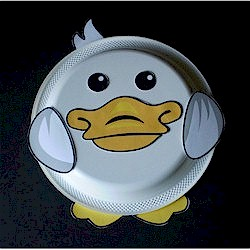 Image of Paper Plate Duck