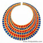 Paper Plate Egyptian Collar