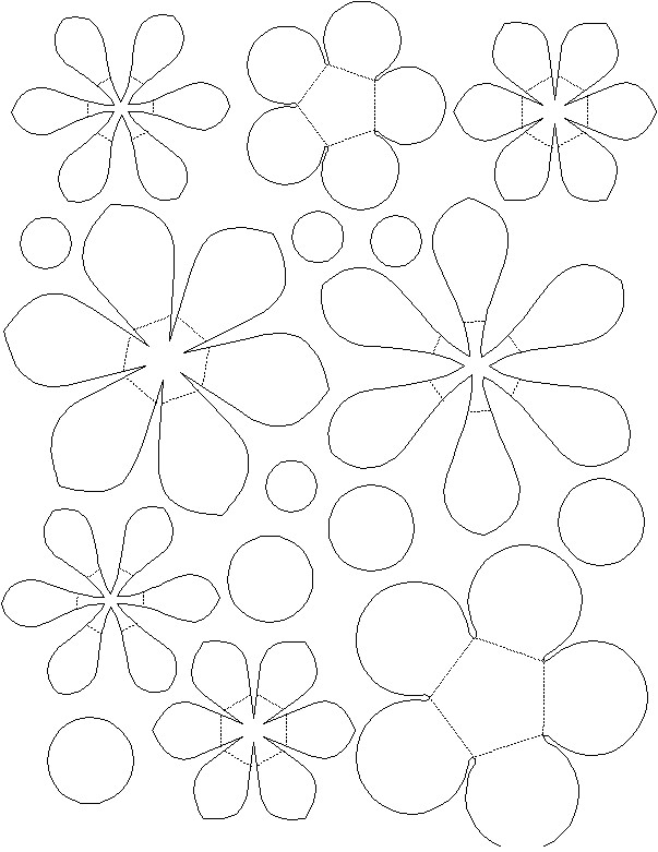 Paper plate flower basket patterns templates and printables mightylinksfo