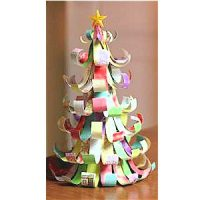 Image of Drinking Straw Christmas Tree
