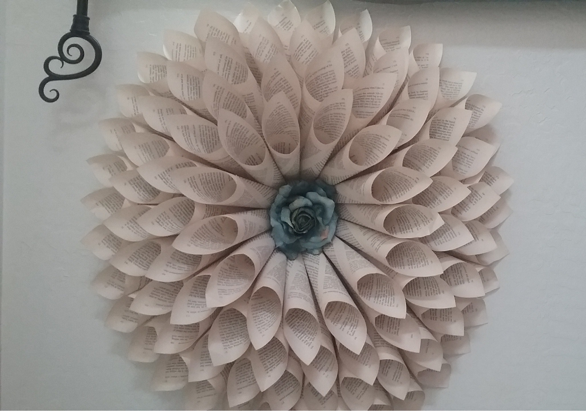 Image of Paper Wall Flower