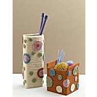 Image of Paper Box Vases