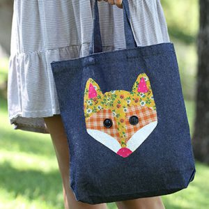 No Sew Patchwork Tote