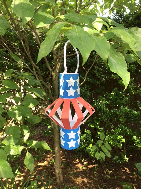 Image of Patriotic Lantern
