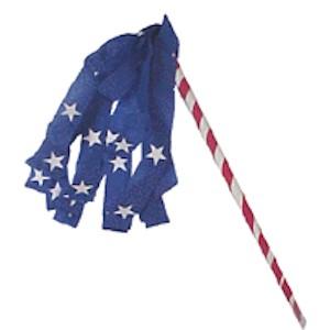 Make A Patriotic Parade Stick