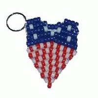 Image of Patriotic Star Necklace