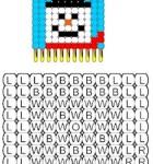 pattern-beaded-snowman