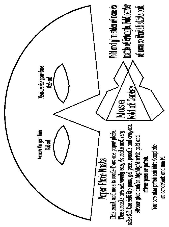 pattern-paper-plate-mask