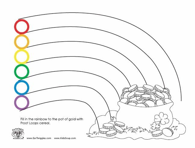 St PatS Rainbow Loops