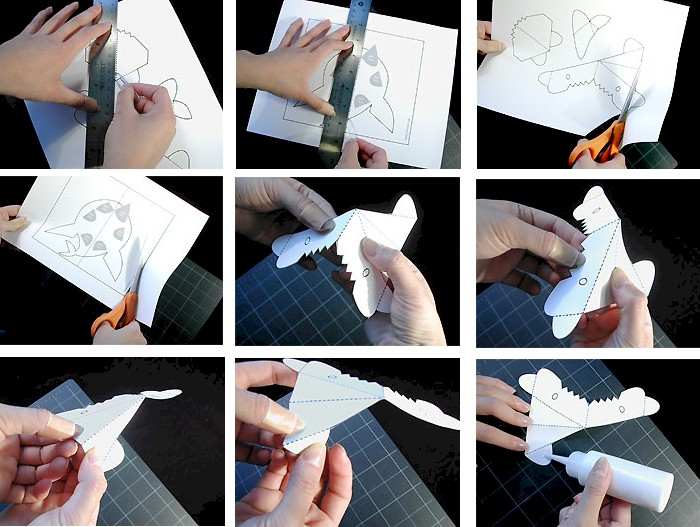 pattern-shark-a3