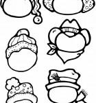 pattern-snowman-heads