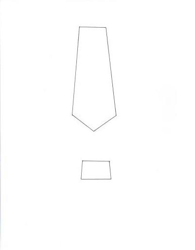 necktie father s day card