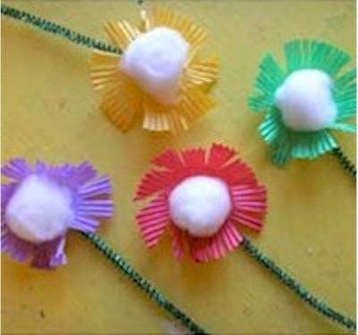 Image of Simple Patty Pan Flowers