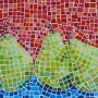Image of Pear Paint Chip Mosaic