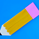 Craft Stick Pencil