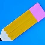 Craft Stick Pencil