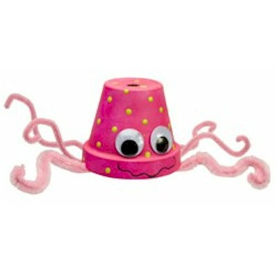 Image of Perky Pink Squid