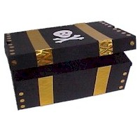 Image of Shoe Box Pirates Treasure Chest
