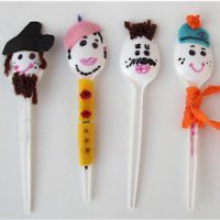 Image of Wooden Spoon Puppets