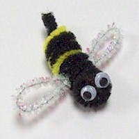 Image of Pom Pom Fuzzy Bee