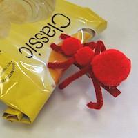 Pompom Ant Chip Clip
