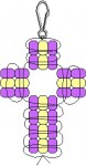 pony-bead-cross-pattern