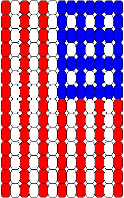 picture about Free Printable Bead Loom Patterns named Generate A Pony Bead Loom