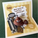"Printable Father's Day Emoji ""Poop"" Card"