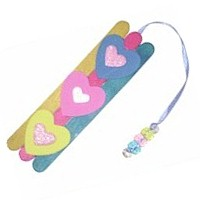 Image of Popsickle Stick Bookmark