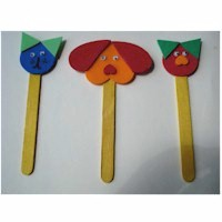 Popsicle Stick Bookmarks