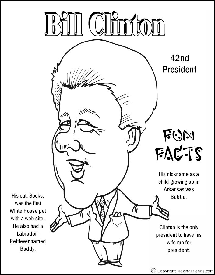 president coloring pages - photo#30