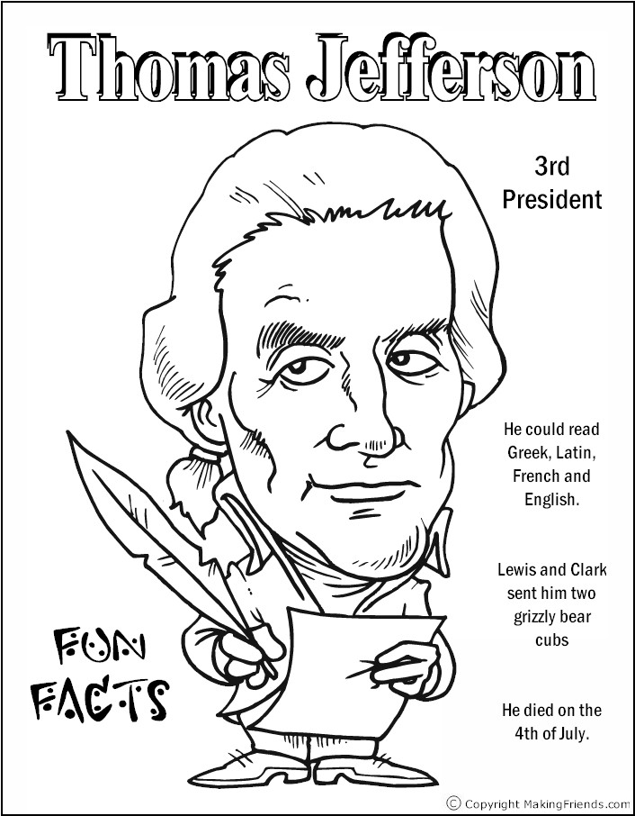 president-jefferson-coloring-page