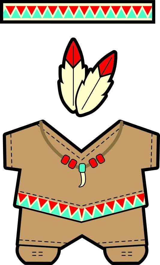 Native American Buddies Paper Dolls