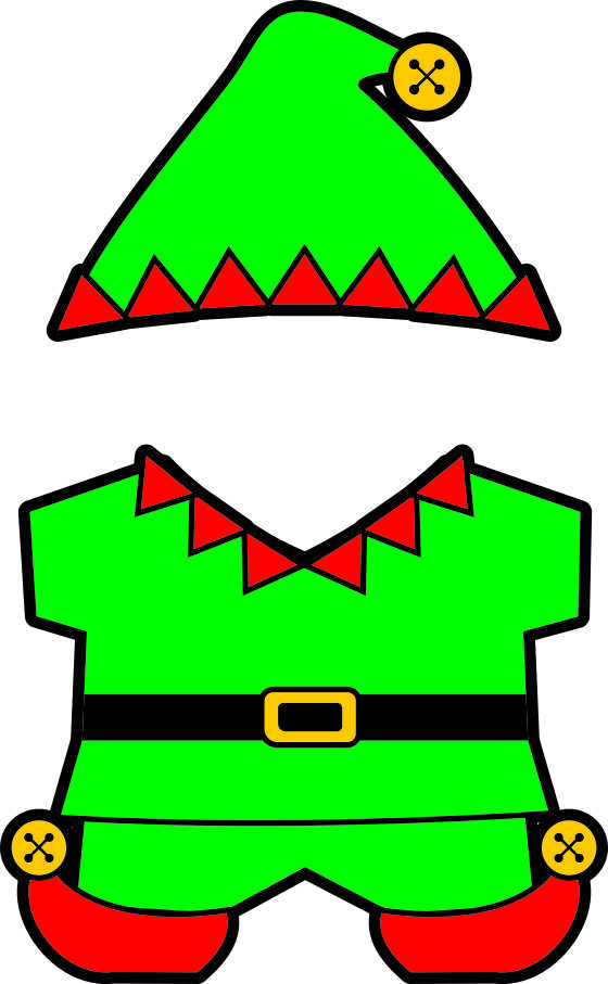 Persnickety image pertaining to elf pattern printable