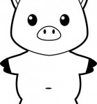 printable-buddy-pig-bw