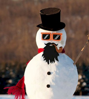 Image of Printable Snowman Props