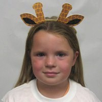 Printable Giraffe Ears
