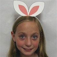 Image of Homemade Easter Hat