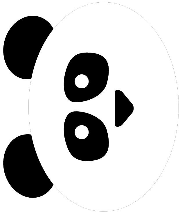 Tissue paper panda bear maxwellsz