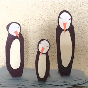 Easy Proud Penguin Parents