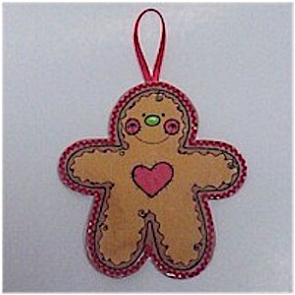 Easy to Make Gingerbread Ornament